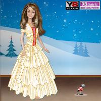 Барби зимой картинки