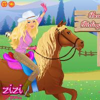 Игры Барби на лошадях Барби