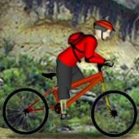 Горный велогонщик Спорт