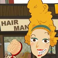 Безумный парикмахер Прически