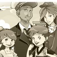 Семейная авиакомпания Готовим еду