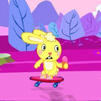 Игра Кролик на скейтборде онлайн