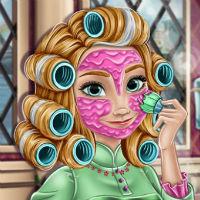 Снежный макияж Холодное сердце